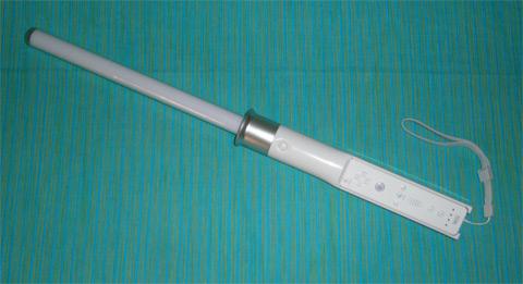 El Sable laser de la Wii