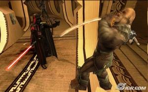 Darth Vader tratando con un Wookie