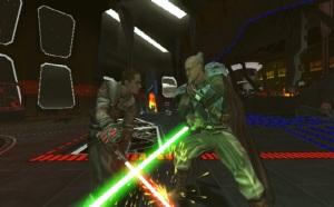 Starkiller en duelo con el general Kota